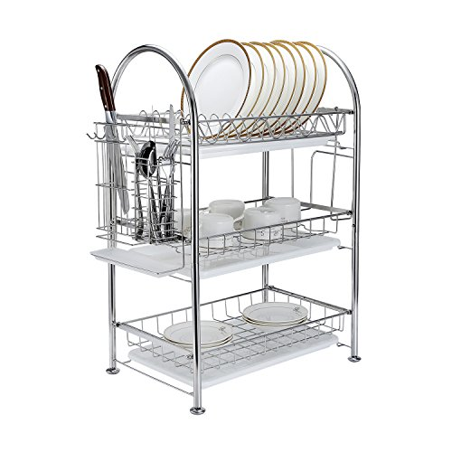 Drainer-Organization-Stainless-GEYUEYA-Home