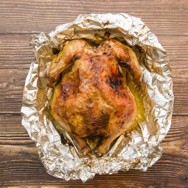 Prepare Chicken Seamlessly in Your Air Fryer Using Foil