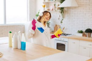 kitchen cleaning time