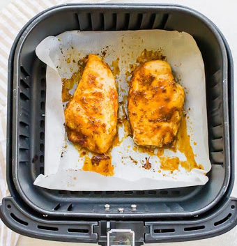 how to clean a air fryer: after cooking