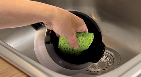 How To Clean A Coffee Maker: Wash the removable parts after every use